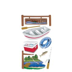 Jolee's Boutique® | Lake Activities Stickers  $5.49