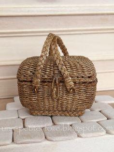 Une Petite Folie: My wicker train basket....
