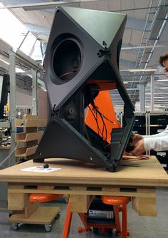BeoLab 90 in the making! Find out how this work of Art delivers impressive Design and Sound on bang-olufsen.com.