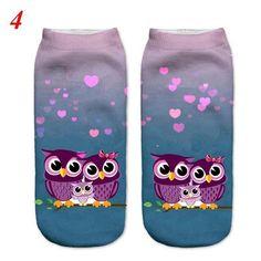 2018 New Cute Lovely 3d Printed Women Girl Children Ladys Socks Casual Socks Unisex Low Cut Ankle Socks The Sand Rabbit Easy To Use Socks