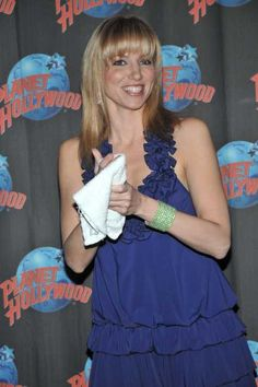 Debbie Gibsons handprint ceremony at Planet Hollywood!