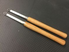 Shop made, carbide tipped turning tools made with inexpensive, existing lathe tools.