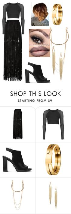 """Untitled #1673"" by aurorazoejadefleurbiancasarah ❤ liked on Polyvore featuring Elie Saab, Topshop, Michael Kors and Marc Jacobs"
