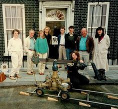 Sophie Neville, not at 10 Downing Street but on the BBC lot at Elstree Studios