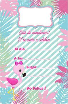 Flamingo Birthday, Flamingo Party, 30th Birthday, Flamingo Rosa, Babies First Year, Ideas Para Fiestas, Fiesta Party, Little Princess, Banner