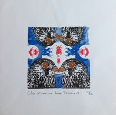 Keeler Tornerno. £65. Limited edition of 25 Gocco Prints.  http://www.london-tap.co.uk/