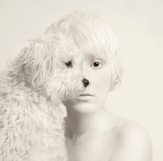 """Amazing photography by artist Flora Borsi. This photoshop in real life """"animeyed"""" Flora Borsi and her makeup skills. She become one with animals by replacing her eyes with theirs. People Photography, Artistic Photography, Creative Photography, Animal Photography, Fine Art Photography, Portrait Photography, Contemporary Photography, Digital Photography, White Photography"""