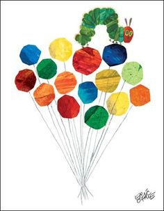 Eric Carle's Up Up And Away Canvas Wall Art