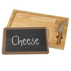 Chalkboard Cheese Cutting Board (customizable)
