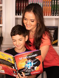 The Times Machine – by Danica McKellar Learning Multiplication Facts, Hello Kitty Photos, Danica Mckellar, Notes To Parents, Jokes And Riddles, The Time Machine, Math Books, Best Acne Treatment, Learn To Read