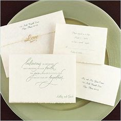 A New Life Together - Invitation   Ann's Bridal Bargains