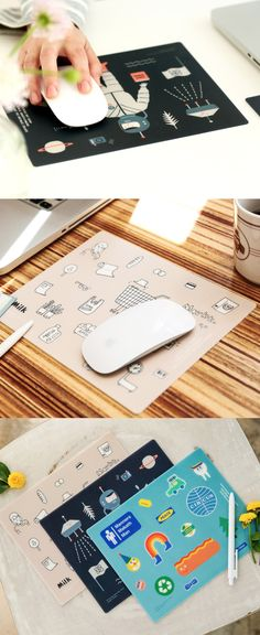 These are great! Crank up your mouse pad style and be loud and expressive!