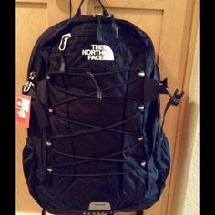 NEW The North Face Women's Borealis Backpack Brand new women's Borealis backpack in black color, contains laptop and tablet sleeves.  NO Trade.  Price is FIRM! The North Face Bags Backpacks