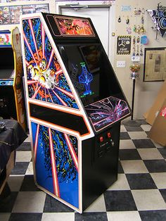 Tempest Arcade Machine - always wanted one of these. $1200.