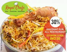 Flat 30% off on Restaurant orders worth upto Rs.500/- coupon IND30...  Download the app now  https://goo.gl/7zgs0I  #Delhi #Gurgaon