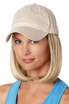 45979a73afe Baseball Cap with Hair  8228 Classic Hat Beige
