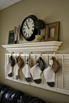I don't have a fireplace and i think this is such a good idea. Love it!