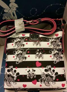 Disney Dooney & Bourke Sweetheart Cross Body Letter Carrier Bag #DooneyBourke #MessengerCrossBody