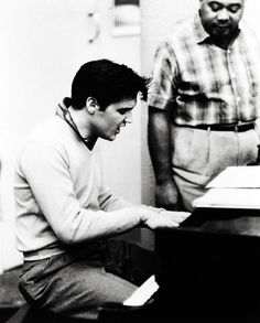 Elvis Presley- King Creole recording sessions (1958)