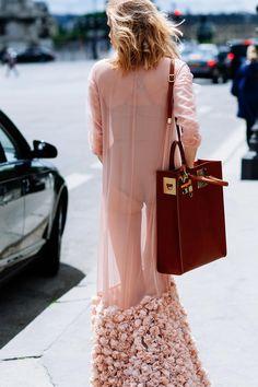Sheerly fabulous Paris street style