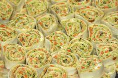 3 Cheese Veggie Pinwheels