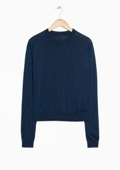 & Other Stories | Metallic Wool Sweater