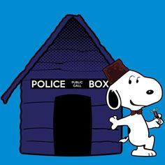 Snoopy as the Eleventh Dogtor