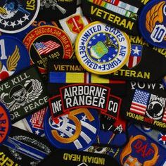 Flags, Badges & Insignia | Army & Outdoors  US Military Patches 10 Pack A mixed bag of military... Velcro Patches, Flag Patches, Samoan Flag, South African Flag, New Zealand Flag, Silver Fern, Army Gifts, Australian Flags, Rainbow Flag