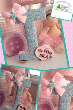 1000+ images about Fabric Covered Wall Letters on Pinterest ...