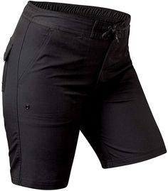9bd8f5125a UV SKINZ UPF50+ Womens Board Shorts-Black-XS at Amazon Women s Clothing  store