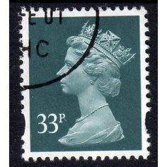 Sg Y1690 33p GREY-GREEN 2B very fine used (U108) Listing in the Definitives,Decimal,Queen Elizabeth II,Great Britain,Stamps Category on eBid United Kingdom | 134585391