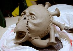 Fowl Mask - Front View - Whistling Vessel | Flickr - Photo Sharing!
