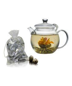 Daydream Teapot & Assorted Blossoming Buds Set
