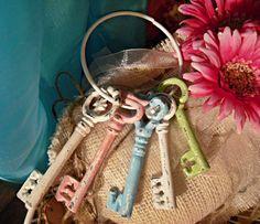 Shabby Chic keys.