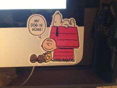 Snoopy and Charie Brown