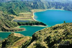 Azores Photograph - Fire Lake - Azores by Gaspar Avila  Fire Lake - AzoresFire Lake (Lagoa do Fogo). Sao Miguel island, Azores islands, Portugal.