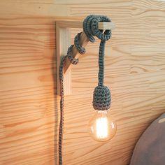 Faça você mesmo: Luminária fofa e fácil de crochê (DIY por Nat Dametto)