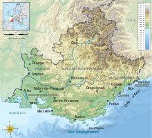 Map from Apt France to Viaduc de Millau 12400 Millau France 2