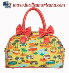cda2d9abfd sac à main vintage Pin Up Banned www.lucilleamericana.com #vintage #sac