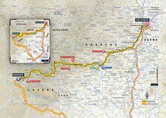 Tour de France 2015 stage 15 map