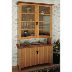 Woodworker S Journal Cherry China Cabinet Plan Rockler Woodworking Hardware