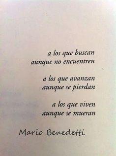 Mario Benedetti #frasesdelavida
