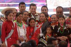 Anuncia el Presidente Peña Nieto una estrategia para llevar servicios básicos a más de dos millones de habitantes de Pueblos Indígenas