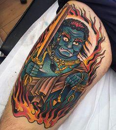 50 Fudo Myoo Tattoo Designs For Men - Acala Ink Ideas Japanese Tatoo, Manga Tattoo, Tibetan Art, Yakuza Tattoo, Tattoo Designs Men, Mafia, Tattoos For Guys, Tatoos, Mens Fashion