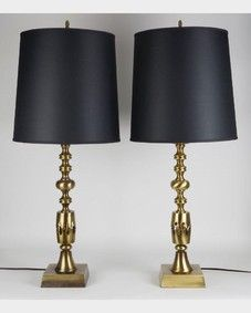 Baluster form lamps