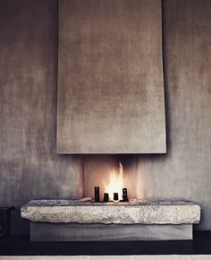 #Fireplace for Santa Fe house. ~ETS