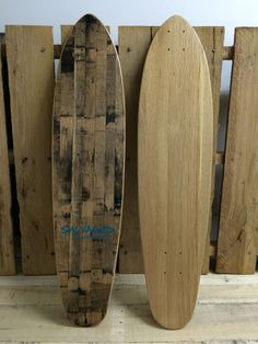 If you loved Monsieur Plant's natural skateboard, check out Salvaged Skateboards. The shop makes decks and complete skateboards using reclaimed wood, such Surfboard Skateboard, Complete Skateboards, Skate Art, Picnic Tables, Summer Goals, Surf Board, Longboards, Skateboarding, Decks