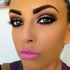 #maquillaje #makeup #labiosrosa #pinklips