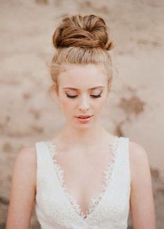 Wedding Top Knot | Bridal Hair Inspiration | Bridal Musings Wedding Blog 4