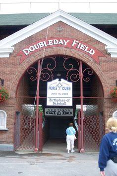 Birthplace of baseball